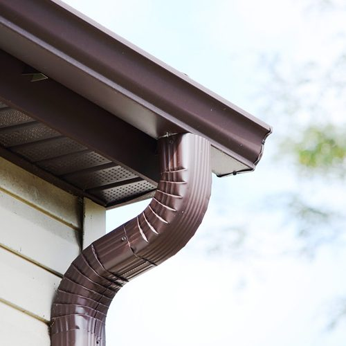 General Roofing Company - Rain Gutter
